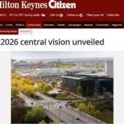 Plan unveiled - MK Citizen Article 2012